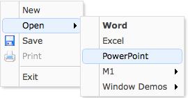 menu - Documentation - jQuery EasyUI
