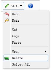 Create a Split Button - jQuery EasyUI